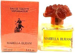 Mariella Burani Women Perfume 3.4oz / 100 ML EDT Spray Vintage Rare.