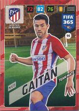 Panini Adrenalyn XL fifa 365 cards 2018 - 94-nico gaitán-Atletico de Madrid