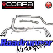 "VX28 Cobra Sport Astra VXR J MK6 Exhaust System VENOM 3"" Stainless Cat Back LOUD"