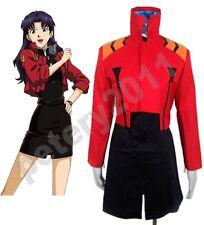 Neon Genesis Evangelion Katsuragi Misato Japanese Cosplay Costume Hat Halloween