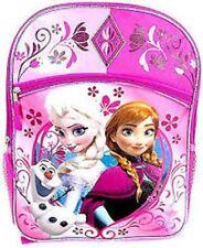 Fast Forward Disney Frozen Anna & Elsa Backpack, Pink
