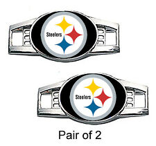 Pittsburgh Steelers Shoe Charms / Paracord Charms