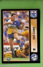 1994 Series 2 RUGBY LEAGUE CARD #80 PAUL CLARKE  PARRAMATTA EELS