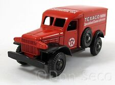 LLEDO Days Gone 029002 1942 Dodge 4 x 4 Texaco - Die Cast Göde