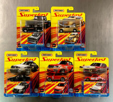 MATCHBOX 2020 SUPERFAST ( SET OF 5 ) TRUE GRIP TIRES 1963 CHEVY C10, '71 NISSAN