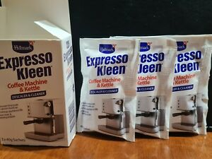 Expresso Kleen Descaler for Coffee Machines & Kettkes 3 X 40G Sachets