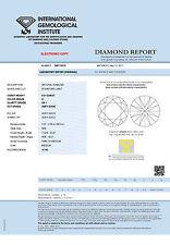 Diamante 0.31ct brillante vs1 River (D) IGI