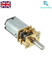 Miniatura 12VDC 100RPM motor de engranajes alto esfuerzo de torsión eléctrico Gear Box-Nuevo Publica Gratis
