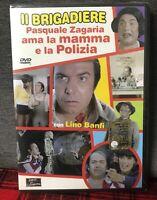 Il Brigadiere Pasquale Zagaria Ama La Mamma e La Polizia DVD Nuovo Lino Banfi