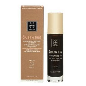 Apivita Queen Bee Holistic Age Defense Day Cream Spf20 , 50ml