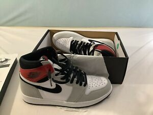 Nike Jordan 1 Retro High OG Light Smoke Grey Men's 9.5 Pre-Owned Worn once