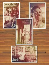 4 Large 11x17 Cool Sailor Jerry Collins Tattoo Vintage Photos Prints Posters