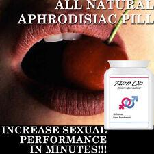 TURN ON APHRODISIAC PILLS TABLETS SUPER HORNEY HIGH LIBIDO STRONG SEX DRIVE !!