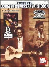 Completar la música Country Blues Guitar Tab Libro Con Audio por Stefan Grossman