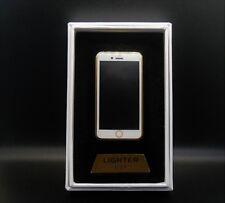 Aufladbar Feuerzeug USB lighter iPhone Handy Style Ohne Gas Geschenk Sturmfeuer