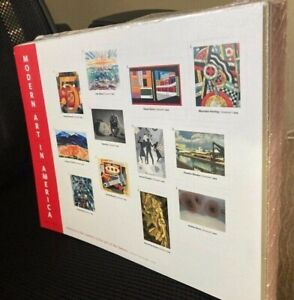 Modern Art in America - 100 PANES of 12 STAMPS UNOPENED - Direct from the USPS
