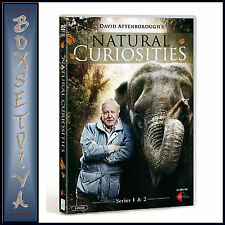 DAVID ATTENBOROUGH NATURAL CURIOSITIES - SERIES 1 & 2  ***BRAND NEW DVD  ****
