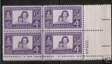 Scotts #1152   4c   AMERICAN WOMAN Plate Block, MNH