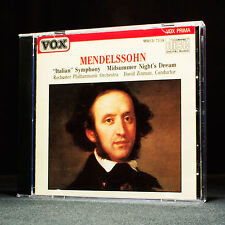 Felix Mendelsshon - Italian Symphony, Midsummer Night's Dream - music cd album
