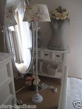 Schönste romantische Stehlampe Stehleuchte Boden Shabby Rosenschirm Landhaus
