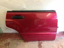 Subaru Forester OS Rear Bare Door Good Condition ! Burgundy Red