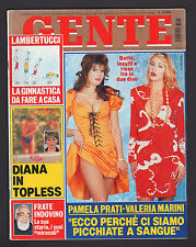 GENTE 3/1996 VALERIA MARINI PAMELA PRATI ANNA FALCHI CLAUDIA KOLL LADY DIANA