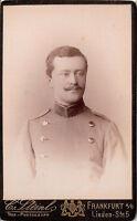 CDV photo Offizier Corps Dragoner Regiment Nr. 12 / Graf von Pückler