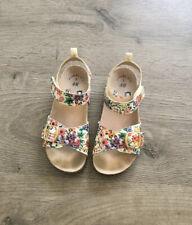 Girls Summer Sandals Floral SIZE 12