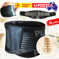 Lumbar Lower Back Support Brace Pain Relief Posture Orthosis Waist Belt Trimmer
