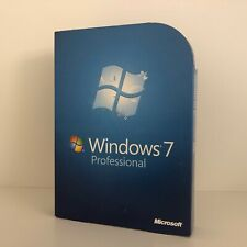 MICROSOFT WINDOWS 7 PROFESSIONAL RETAIL BOX 32 + 64 BIT VOLLVERSION MS PRO