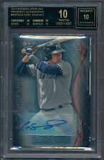 2014 Bowman Sterling GARY SANCHEZ Rookie Auto BGS 10 Black Label (B&BEnt)