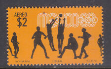 Mexico Air mail Sc#C-337. Olympic Games Mexico'68, Voleyball. Mint NH.vf.