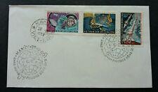 Vietnam Vostok II & IV Space Flights 1962 Space Astronomy Rocket (stamp FDC)