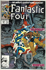 Fantastic Four #347 VFNM Dec1990 Spider-man Wolverine Hulk Ghost Rider Ms Marvel