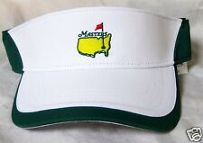 1-2018 Augusta MASTERS White Performance Tour VISOR with Green Trim