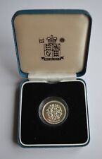 1997  United Kingdom Three Lions Silver Proof One pound Coin + Case