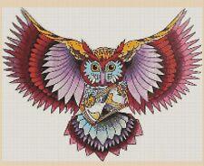 Owl Counted Cross Stitch Chart No. 2-392/21