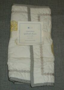 Pottery Barn Baby Courtney Quilted Sham Small Paisley