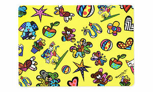 ROMERO BRITTO PLACEMAT: MINI ICONS DESIGN ** NEW **