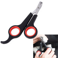 Pet Dog Cat Rabbit Bird Claw Stainless Nail Clippers Trimmers Scissors Grooming