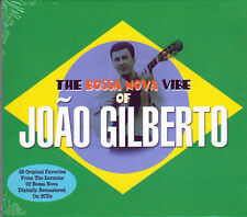 THE BOSSA NOVA VIBE OF JOAO GILBERTO (NEW SEALED 2CD)