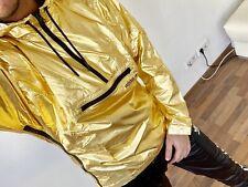Adidas Windbreaker - Gold XL - new, ultra rare , adidas chile, glanznylon, shiny