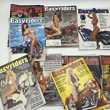 Lot of 19 Vintage Easyriders In The Wind Motorcycle Magazines 1993-96 Adults Mag