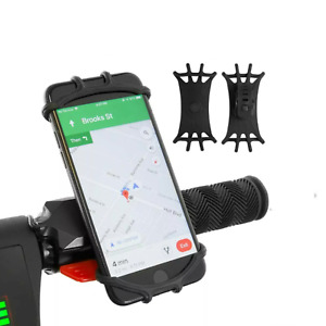 Phone holder for Mobile phones electric scooter handlebar accessory mount 360°