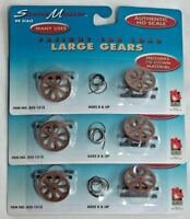 HO FREIGHT CAR LOAD DIORAMA LIFE-LIKE 433-1513 INDUSTRIAL GEARS NEW LOT OF 3