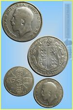 GB. - 1925 Florin and Halfcrown ....  Vg-F (2 Coins)