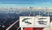 Grönland 2018 Block 86 NORDEN Fische Gemeinschaftsausgaben Makrele Hering