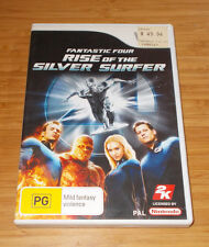 WII FANTASTIC FOUR Rise of the Silver Surfer Game Rated PG PAL FREE POST