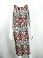 New Look Multicoloured Dress SZ 12 with Pattern