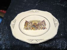 Wonderful Silver Jubilee plate for King George V & Queen Mary approx 8¾ ins wide